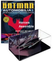 DC Batman Automobilia Collection #37 Batman Beyond Animated Series Batmobile Eaglemoss